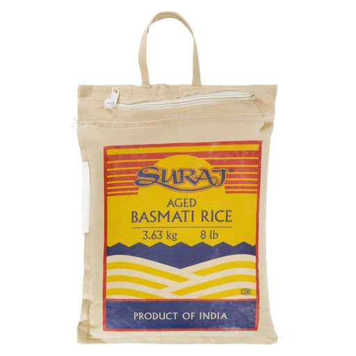 SURAJ Basmati Rice 3.63 kg No Name Couryah