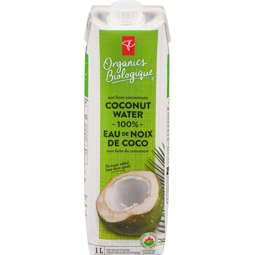 PC ORGANICS 100% COCONUT WATER 1 L PC Organics Couryah