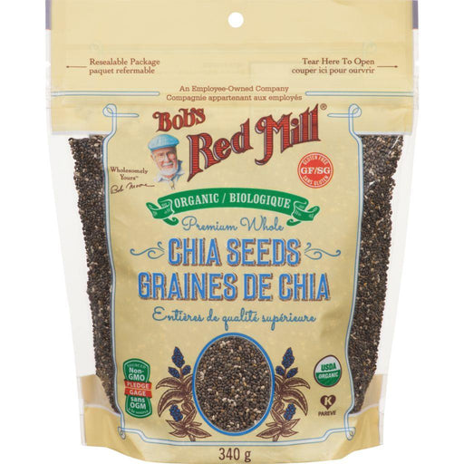 Bobs Red Mill Chia Seeds Organic Premium Whole 340 g Bobs Red Mill Couryah
