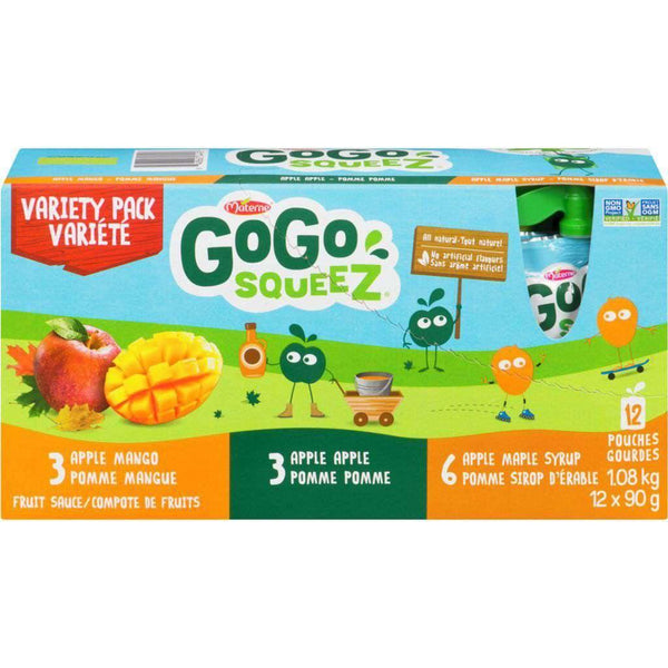 GOGO SQUEEZ Variety Pack 1.08 Kg