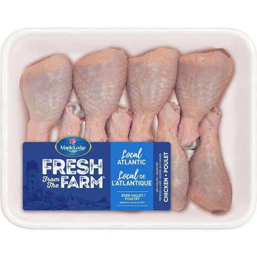 Fresh From The Farm Chicken Drumsticks, 8 Pack Maple Lodge Couryah