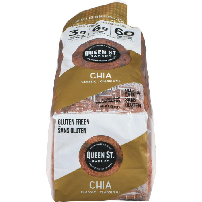 Loaf Chia Classic 480 g Queen St Bakery Couryah