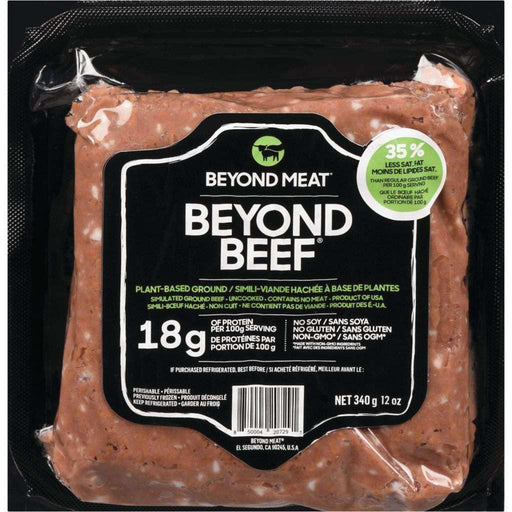 BEYOND BEEF PB GROUNDS Beyond Meat Couryah