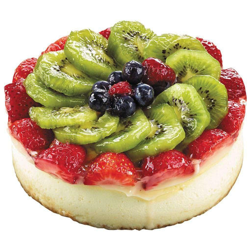 "6"" Fruit Topped Cheesecake 900 g Cheesecake Couryah"