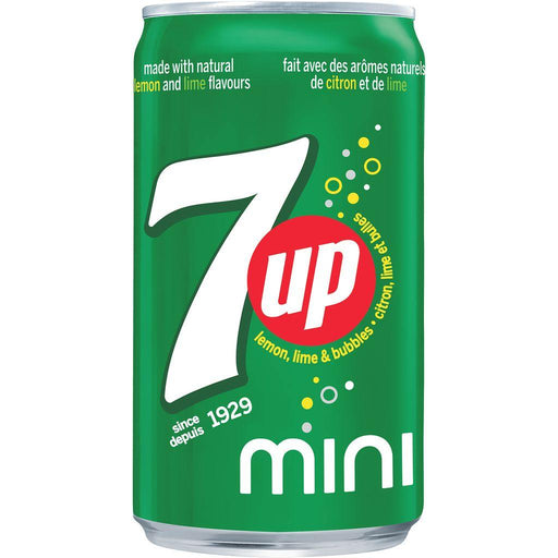 7 Up Mini Cans Case, 6 x 222 mL Pepsi Couryah