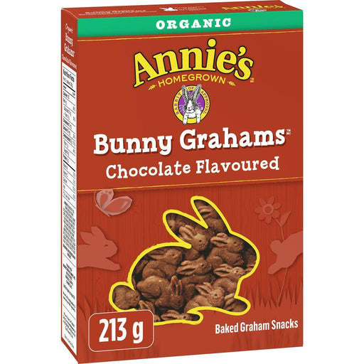 Annie's Bunny Grahams, Chocolate Flavoured 213g - COURYAH