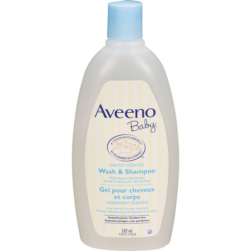 Aveeno Baby Wash & Shampoo 532mL Aveeno Couryah