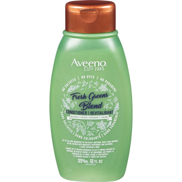 Aveeno Fresh Greens Blend Conditioner 354 mL Aveeno Couryah