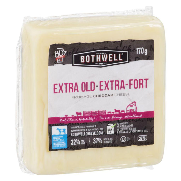 Bothwell Extra Old White Cheddar Cheese 170g Bothwell Couryah