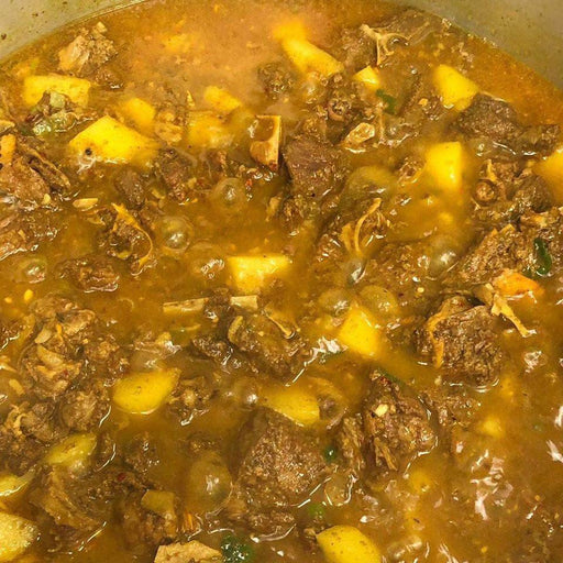 Yea Mon: Curry Goat Curry Goat Brawta