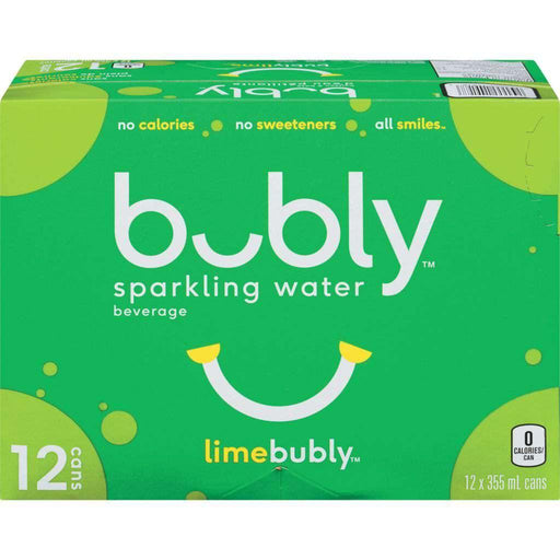 Bubly Lime Sparkling Water Case (12 x 355mL) - COURYAH