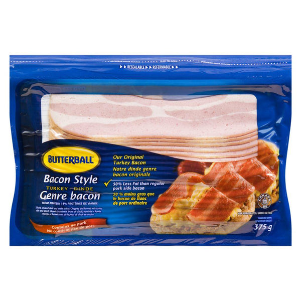 Butterball Turkey Bacon Style 375 g