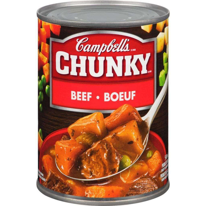 Campbell's Chunky Beef Soup 540 mL Campbell's Couryah
