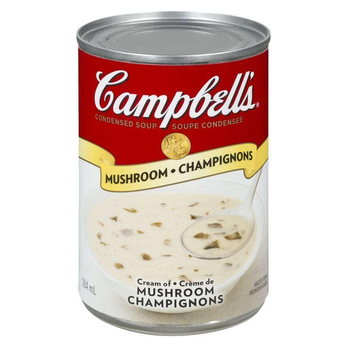Campbell's Cream Of Mushroom Soup 284mL Campbell's Couryah
