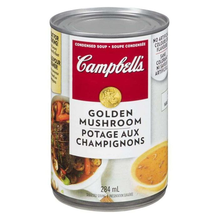 Campbell's Golden Mushroom Soup 284mL Campbell's Couryah