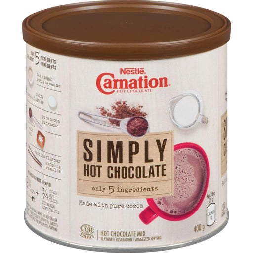 Carnation Simply Hot Chocolate 400 g Carnation Couryah