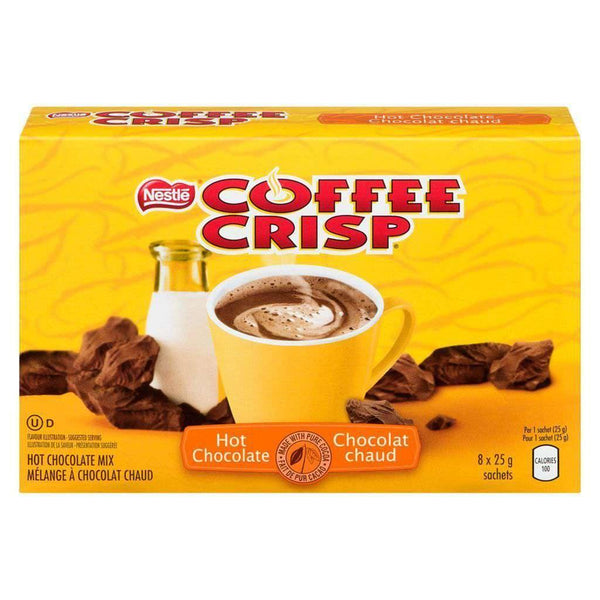 Carnation Coffee Crisp Hot Chocolate Mix (8 x 25 g)