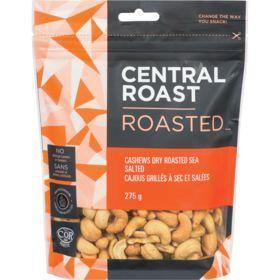 Central Roast Dry Roasted Sea Salted Cashews 275 g Central Roast Couryah