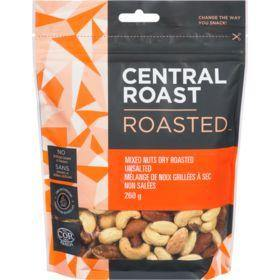 Central Roast Dry Roasted Unsalted Mixed Nuts 260 g Central Roast Couryah