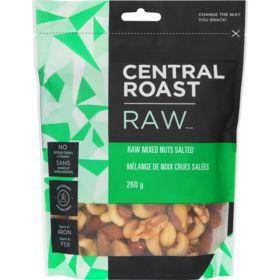 Central Roast Raw Salted Mixed Nuts 260 g Central Roast Couryah