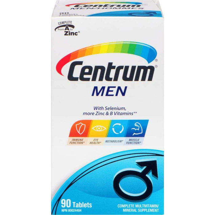 Centrum for Men 90 Tablets Centrum Couryah