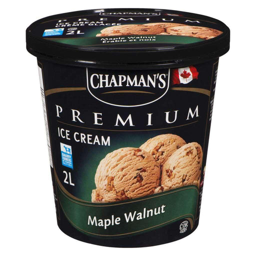 Chapman's Premium Ice Cream, Maple Walnut 2 L Chapmans Couryah