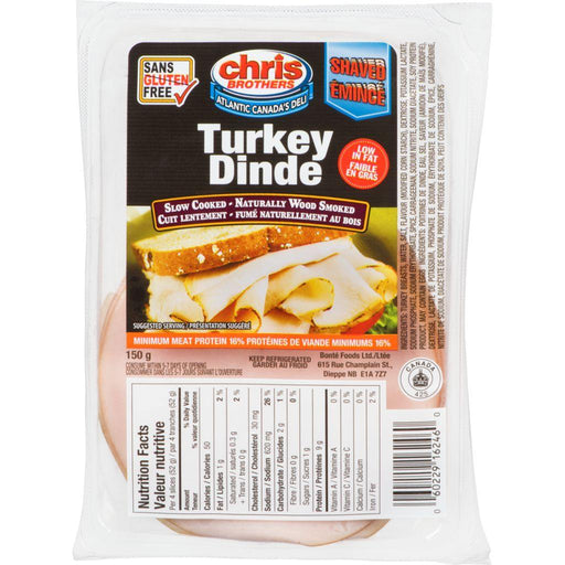 Chris Brothers Shaved Turkey Breast 150 g Chris Brothers Couryah