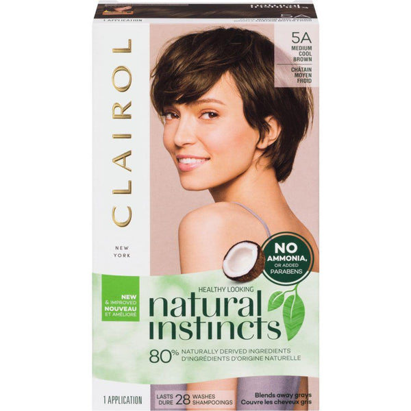 Clairol Natural Instincts 5A Medium Cool Brown