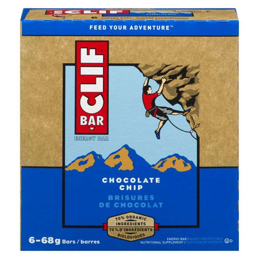 Clif Chocolate Chip Energy Bars (6 x 68 g) Clif Couryah