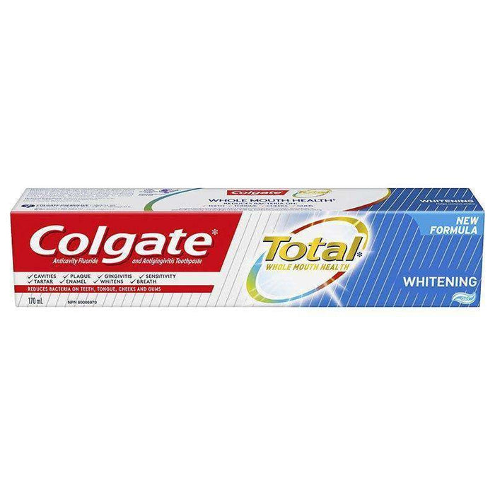 Colgate Total Whitening - Gel Toothpaste 170ML Colgate Couryah
