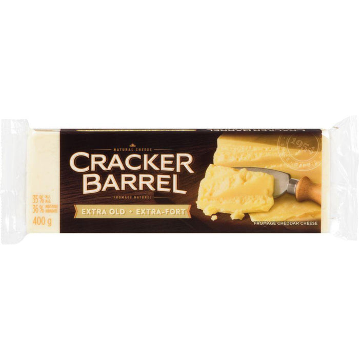Cracker Barrel Extra Old White Cheddar Cheese 400 g Cracker Barrel Couryah
