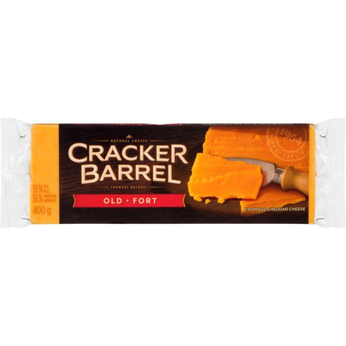 Cracker Barrel Old Cheddar Cheese 400 g Cracker Barrel Couryah