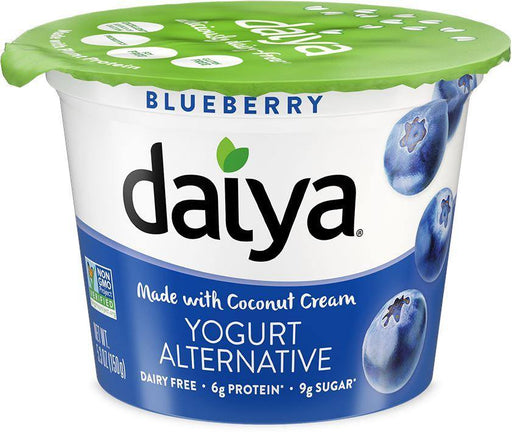 Daiya Deliciously Dairy-Free Blueberry Yogurt Alternative Made with Coconut Cream 150 g Daiya Couryah
