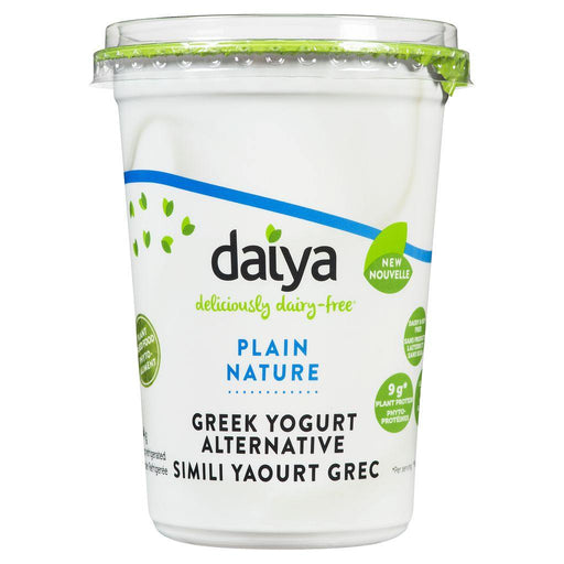 Daiya Deliciously Dairy-Free Plain Greek Yogurt Alternative 454 g Daiya Couryah
