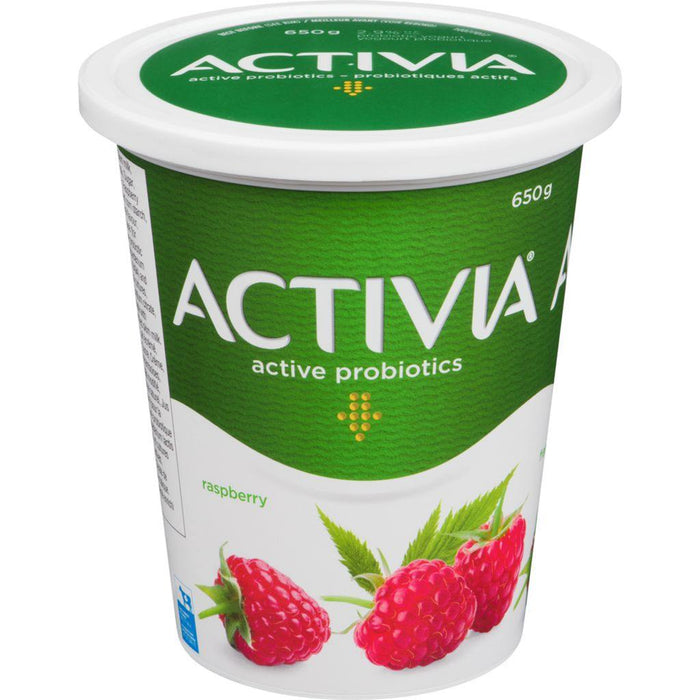 Danone Activia Yogurt with Probtiocs, Raspberry 650 g Danone Couryah