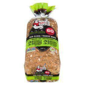 Dave's Killer Bread Thin-Sliced 21 Whole Grains and Seeds Organic Loaf 580 g Dave's Killer Bread Couryah