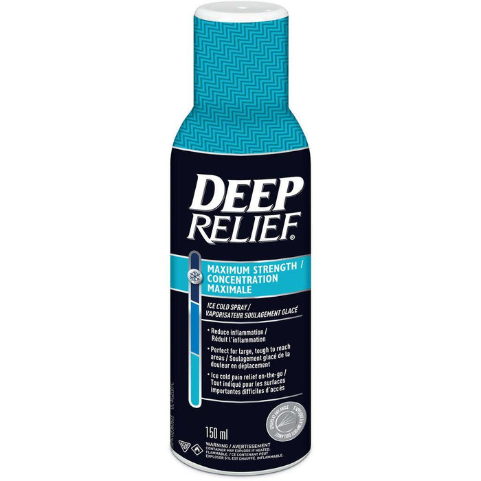 Deep Relief Maximum Strength Ice Cold Spray 150mL - COURYAH