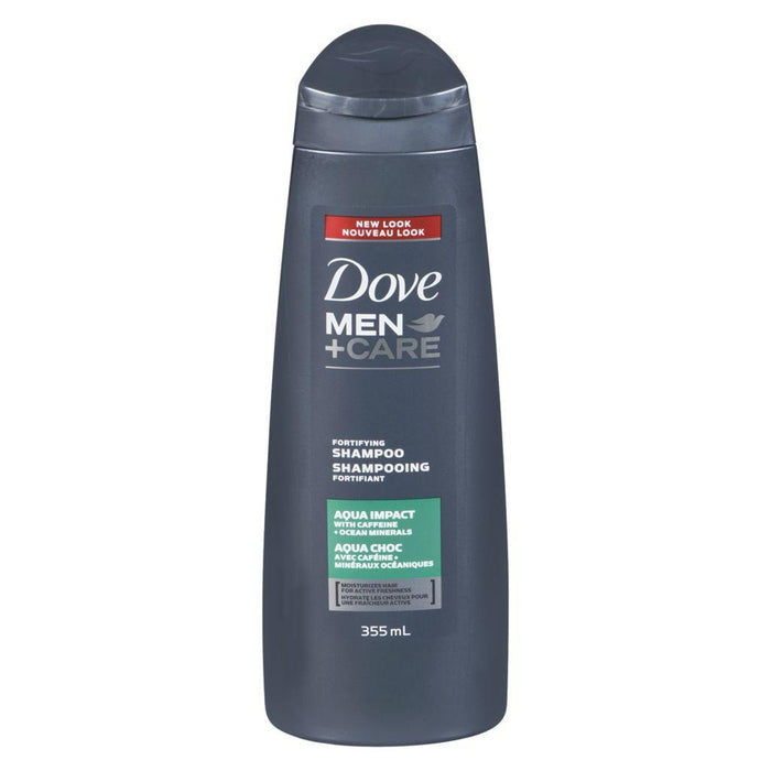 Dove Men + Care Fortifying Aqua Impact Shampoo 355 mL Dove Couryah