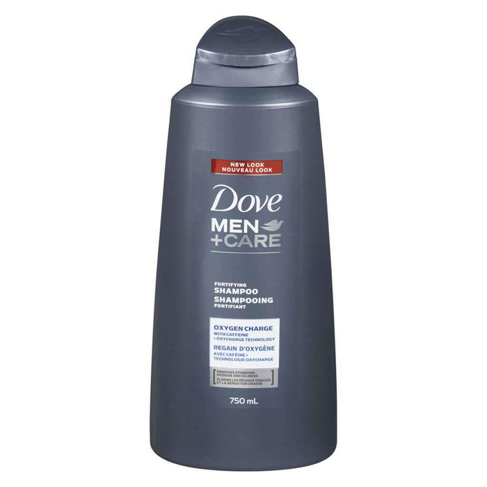Dove Men+Care Oxygen Charge Shampoo 750 mL Dove Couryah