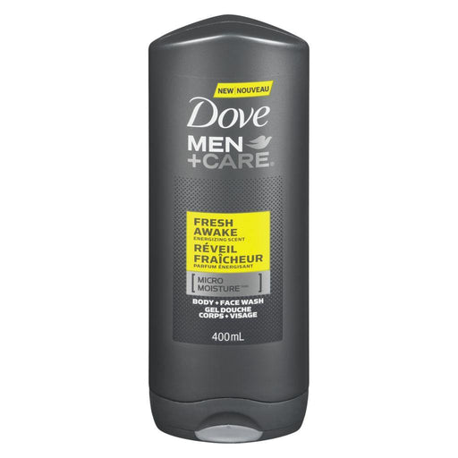 Dove, Men + Care Fresh Awake Face & Body Wash 400mL - COURYAH