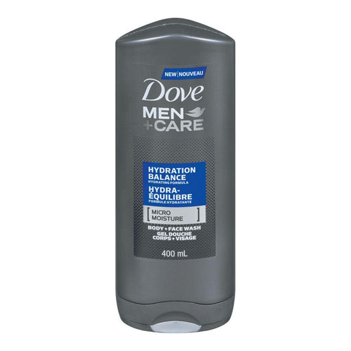 Dove, Men + Care Hydration Balance Face & Body Wash 400mL - COURYAH