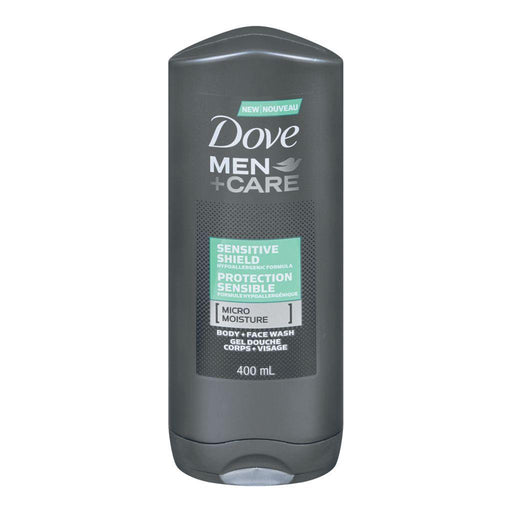 Dove, Men + Care Sensitive Shield Face & Body Wash 400mL - COURYAH