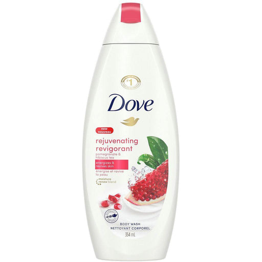 Dove, Rejuvenating Pomegranate & Hibiscus Tea Body Wash 354mL - COURYAH