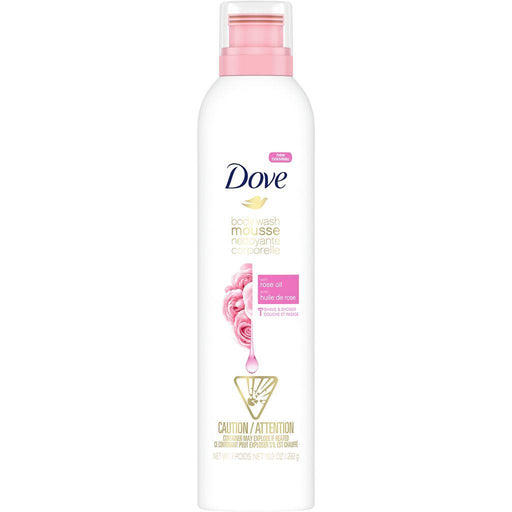 Dove, Rose Oil Shower Mousse 292g - COURYAH