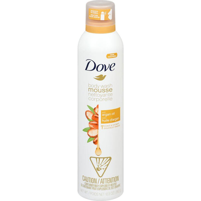 Dove, Argan Oil Shower Mousse 292g - COURYAH