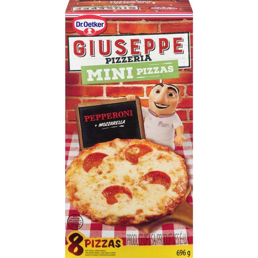 Dr Oetker Mini - Pepperoni 8 Pizzas - 696g Dr Oetker Couryah