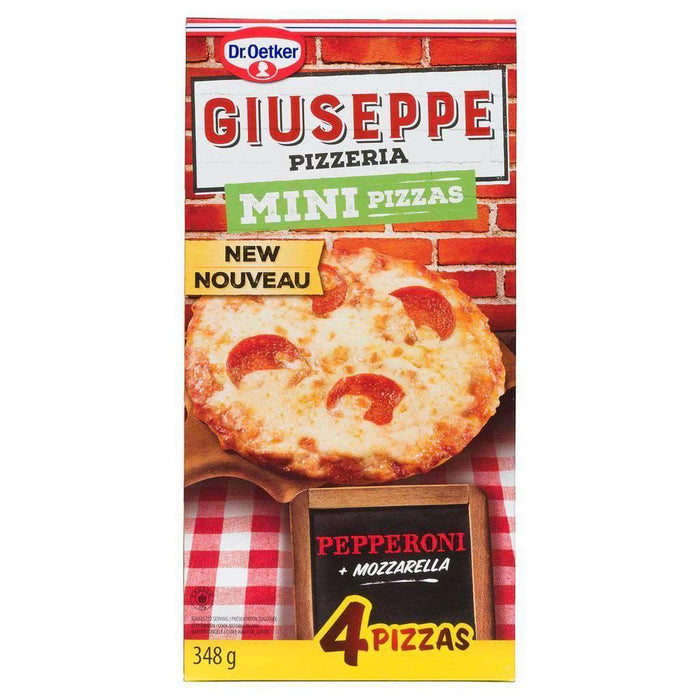 Dr Oetker Mini - Pepperoni 4 Pizzas - 348g Dr Oetker Couryah