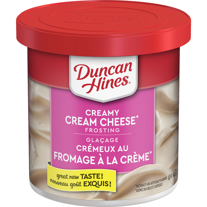 Duncan Hines Creamy Frosting, Cream Cheese 450g