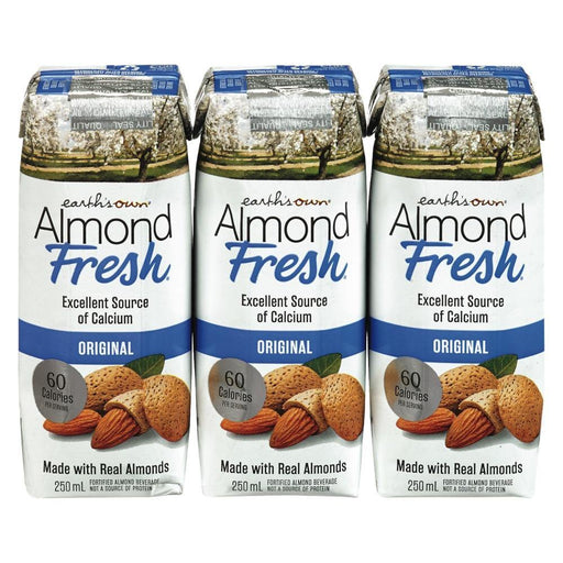 Earth's Own Original Almond Fresh Milk (3 x 250 mL) Earth's Own Couryah
