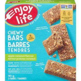 Enjoy Life Baked Chewy Bars, Apple Caramel Flavour (5 x 165 g) Enjoy Life Couryah